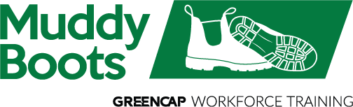 Logo Greencap Muddy Boots Asbestos and Environmental Workforce Training
